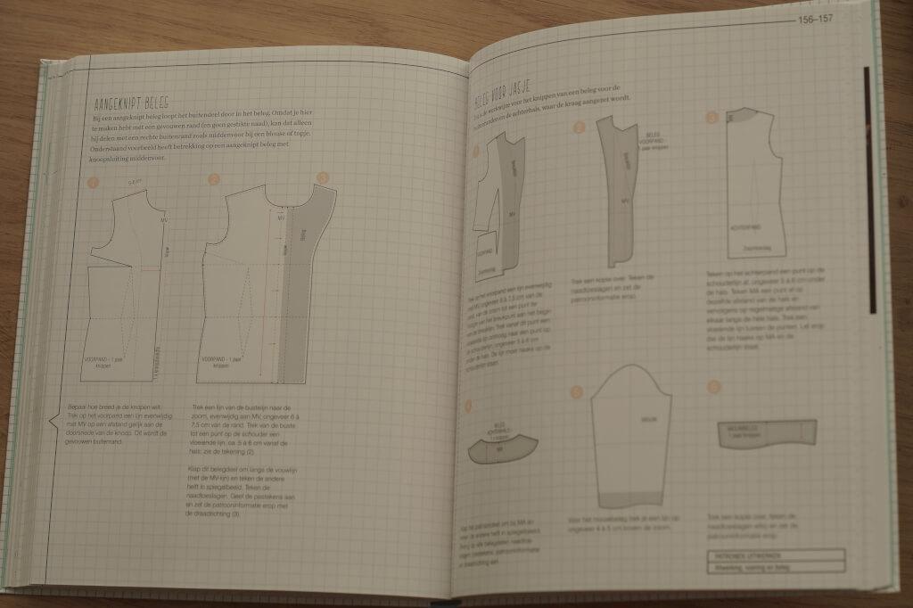 Het patroontekenboek inkijken