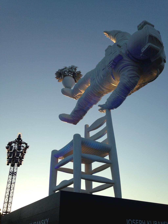 Lowlands astronaut