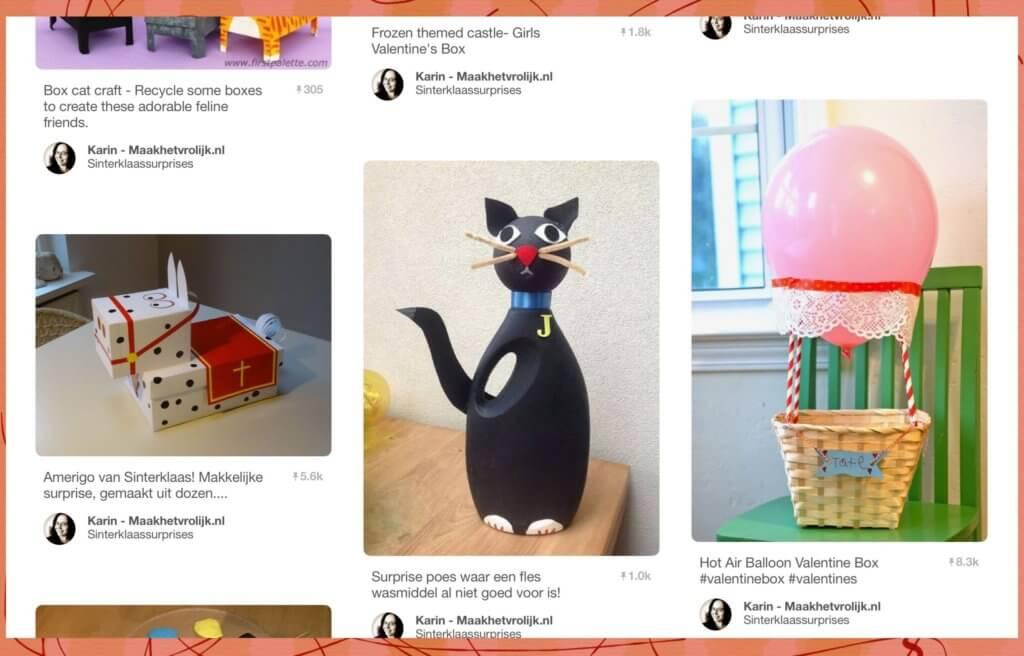 Sinterklaassurprise kat