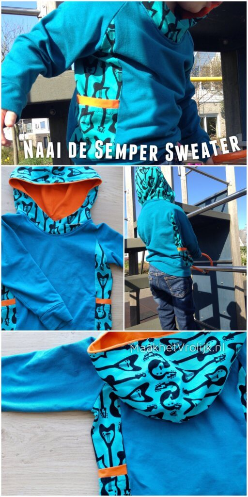 Semper Sweater - maakhetvrolijk.nl