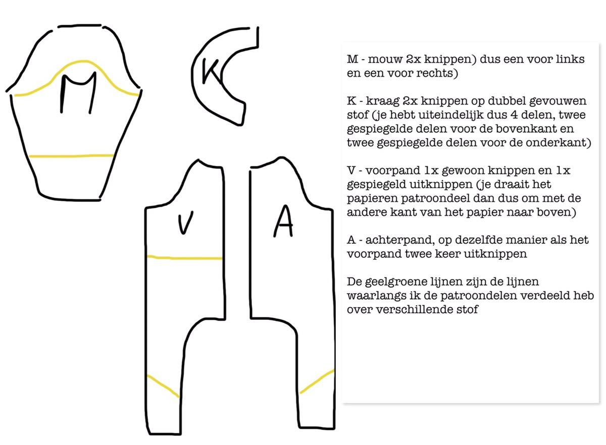 Verwonderlijk Clownspak in de vorm van een overall - Maak het Vrolijk . nl QW-05